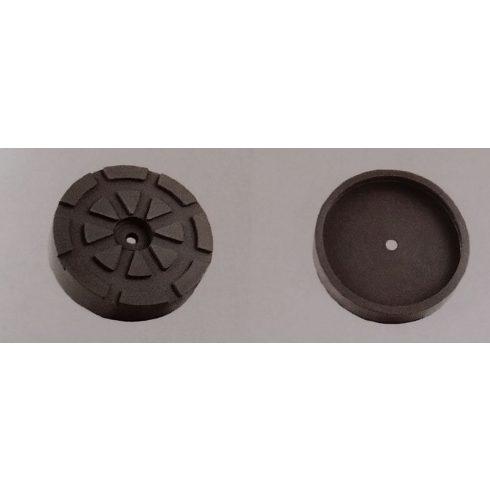 Werther d=122mm emelő gumitányér